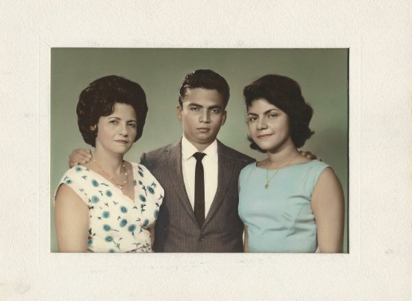 Young mother, Alejandro and Celia